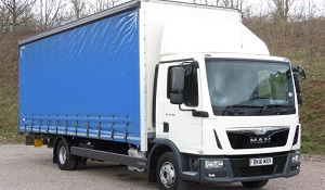 Typical Used Curtainsider for Sale