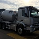 Typical Mercedes Arocs with 6x4 McPhee Mixer