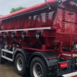 Multiple Pods on the Mortar & Screed Delivery body from McPhee