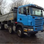 Scania P Series 8x4 Tipper with Easy Sheet
