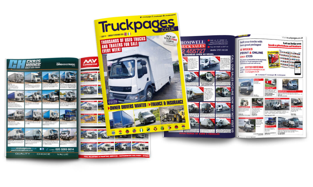 Truckpages image view