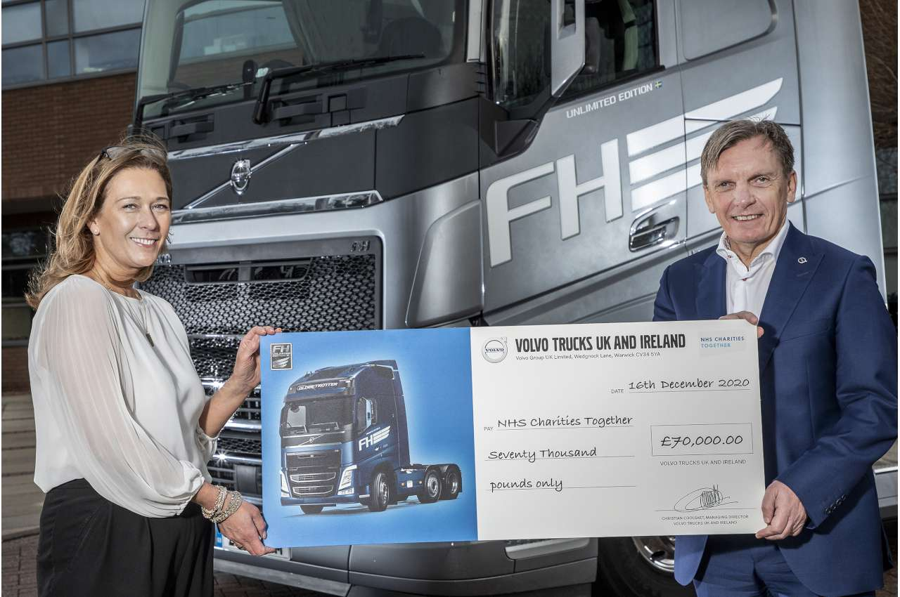 Volvo FH Unlimited in charity