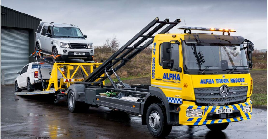 Mercedes Atego 1530 Recovery Truck