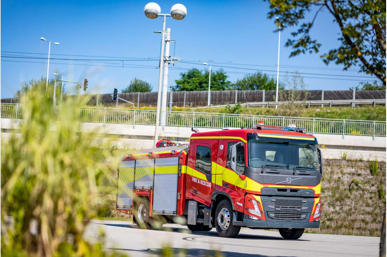 Volvo FMX Fire Truck Complete with Body