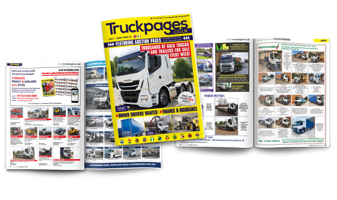 Truckpages Issue 53 Spread