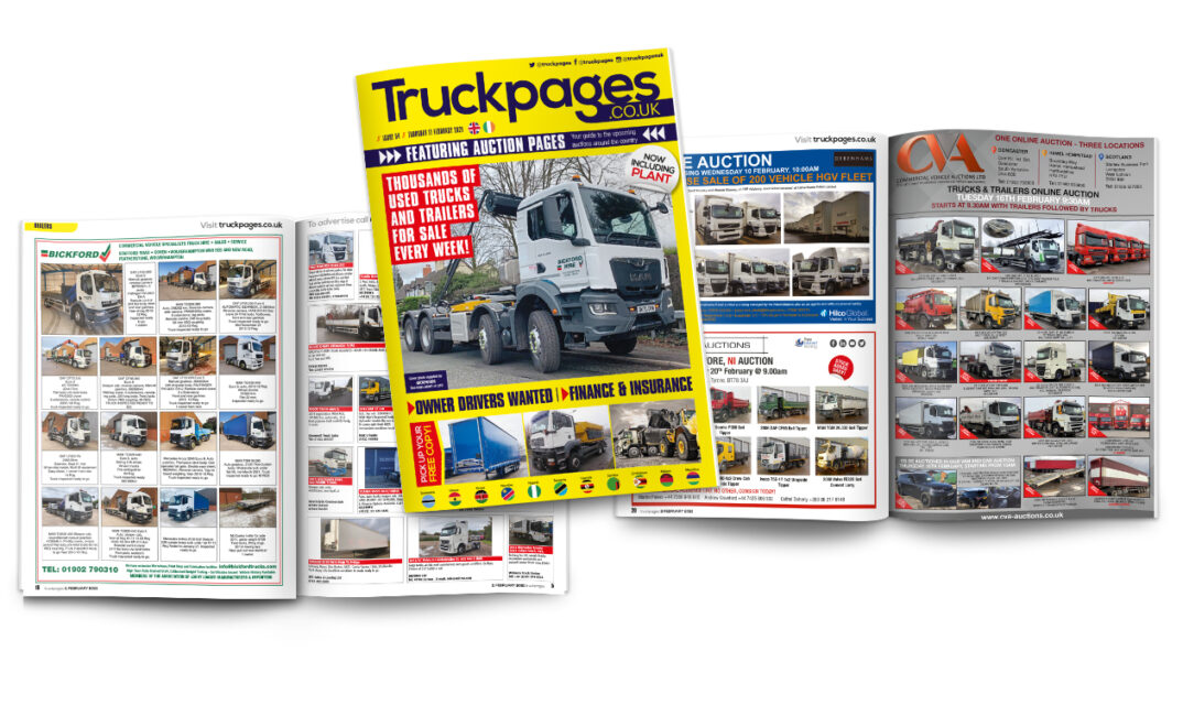 Truckpages Issue 54 spread