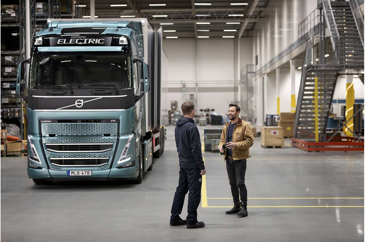 Volvo FH Globetrotter Electric