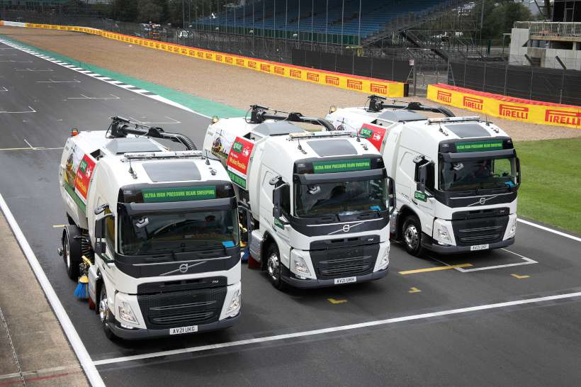 Volvo FM Sweepers Globetrotter Cabs