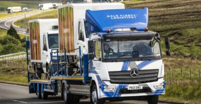 Mercedes Atego Recovery Truck with Trailer