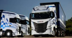 Initial Four New Iveco S-Way Trucks for S&L