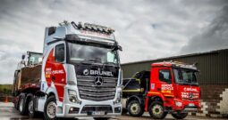 First Ever Tractor Unit is Actros Edition 1