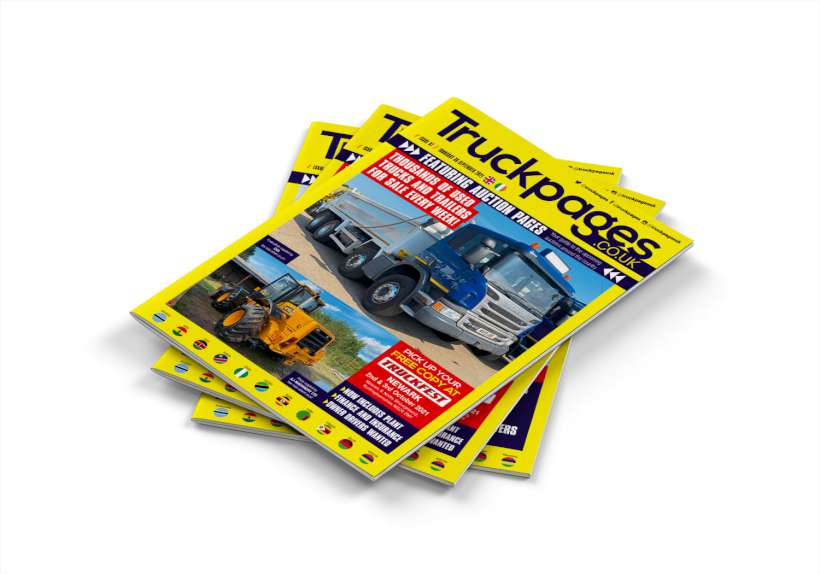 Truckpages 87 Front Cover